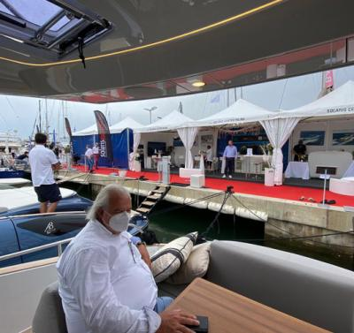 Solaris Power attended the Palma Boat Show