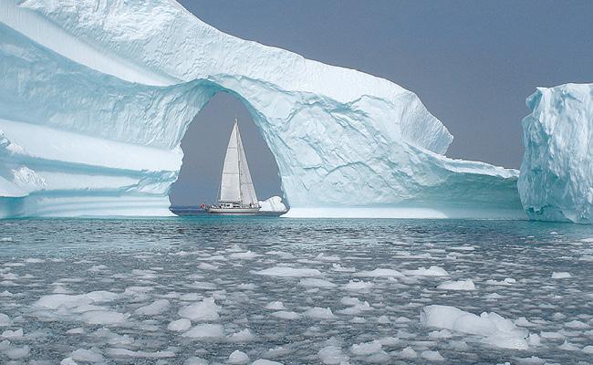 Solaris yachts in Arctic Seas