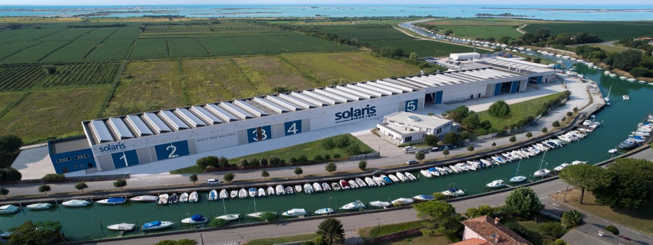 Solaris Yachts Yard Aquileia Italy